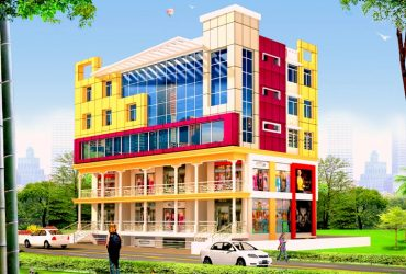 Surya B.P Commercial is a B+G+4 Commercial cum office business centre located at Saguna More in Western Patna.