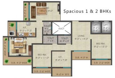 Presenting Most Luxurious flat of Badlapur at affordable Budget