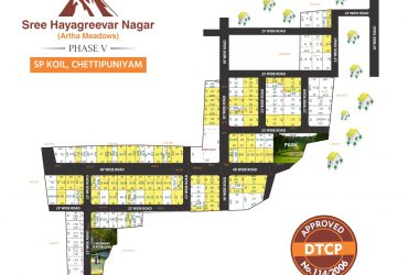 Sree Hayagreevar Nagar Phase – V (Artha Meadows) A DTCP Approved Residential project located Opposite to Mahindra World city